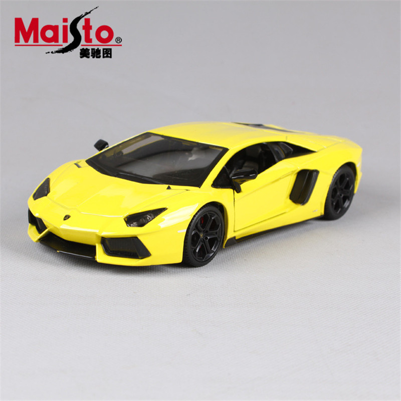 MAISTO Car 1:24 Lamborghini Aventador LP700-4 Modified Cars Alloy Simulation Real Model Cars Toys With Openable Doors Decoration(China (Mainland))