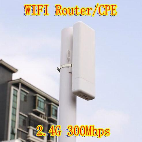 2015 300mbps 1000mw Outdoor High Power Gain Wireless Cpe Bridge Ap wifi Extender wireless Repeater modem Wifi Router with POE(China (Mainland))