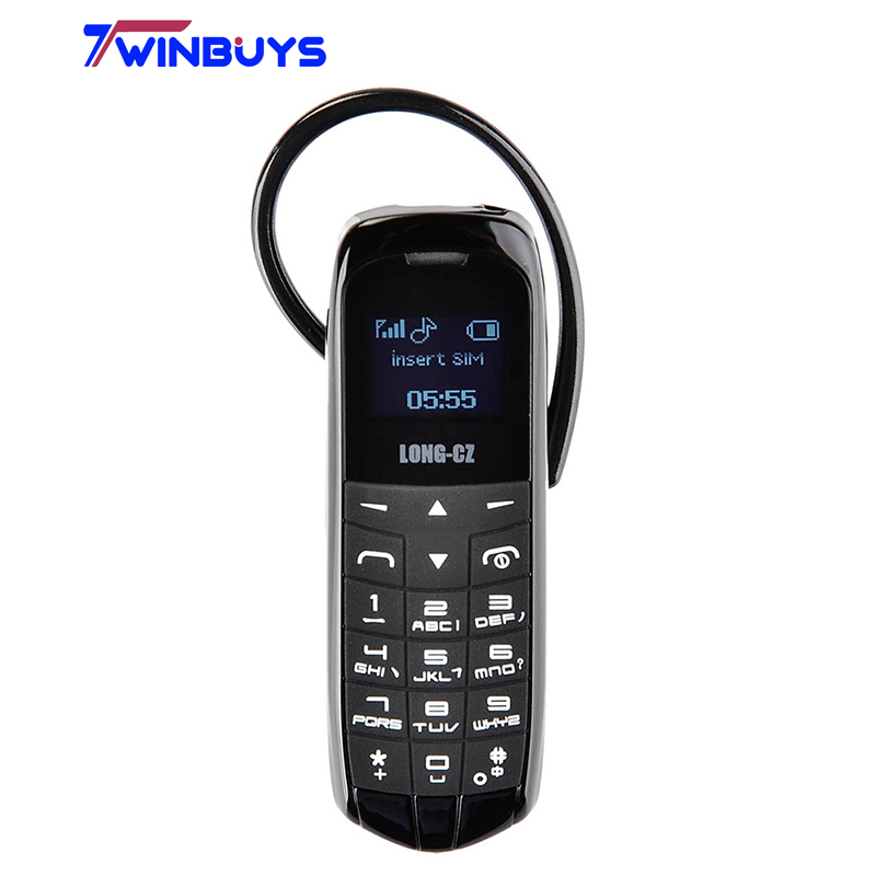 LONG-CZ J8 bluetooth Dialer mini mobile Phone 0.66 inch with Hands Free Support FM Radio, Micro SIM Card, GSM Network(Hong Kong)