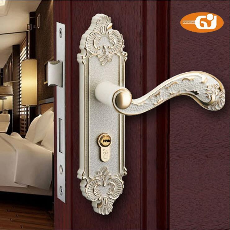 European design zinc alloy material bedroom interior door