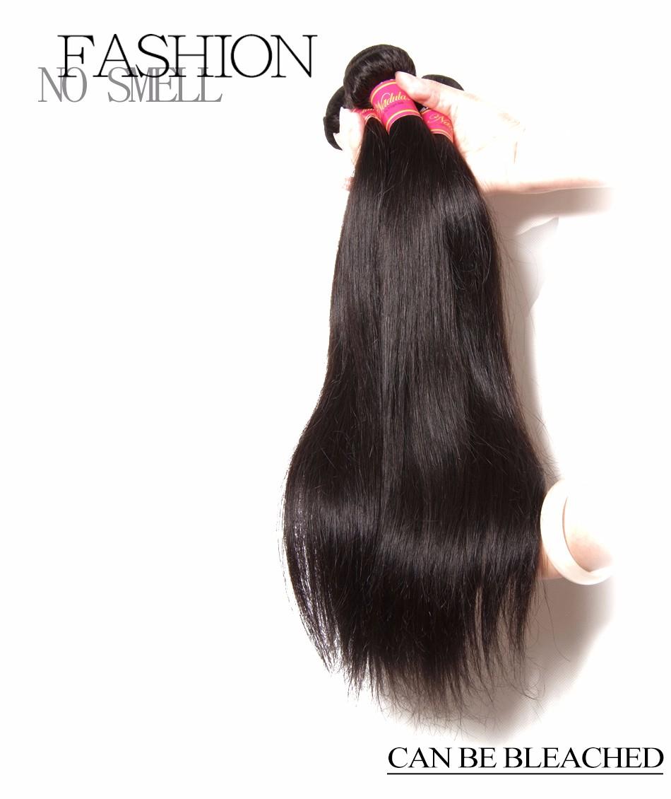Nadula Hair Malaysian Straight Hair 100% Human Hair Weaves 8-30inch 100g/Bundle Non-Remy Hair Extensions Free Shipping