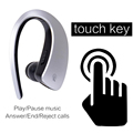 Business Style Voice Control Wireless Handsfree Headset Bluetooth 4 1 Earphone Dual Stand Stereo For Sports