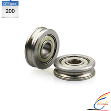 200 Pcs/Lot 3D printer accessories 604UU Bearing Parts for MakerBot RepRap UP Mendel I3 Printer by DHL or Fedex
