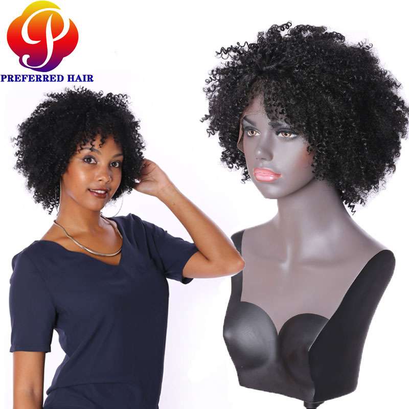 Hot Sale!high Quality African American Wigs with Baby Hair Cheap Front Lace Wigs Short Wigs for Black Women Wigs That Look Real(China (Mainland))