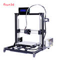 LCD display diy 3d printer kit High Precision i3 3d printer with two rolls filament SD