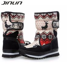 2016 mujeres botas de invierno buena venta de las mujeres botas de nieve de las mujeres impermeables de invierno muy cálido zapatos 04(China (Mainland))