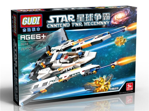 GUDI 8614 Star Wars Space War Cannon Artillery Minifigure Building Block 281Pcs Bricks Toys Compatible With Lego<br><br>Aliexpress