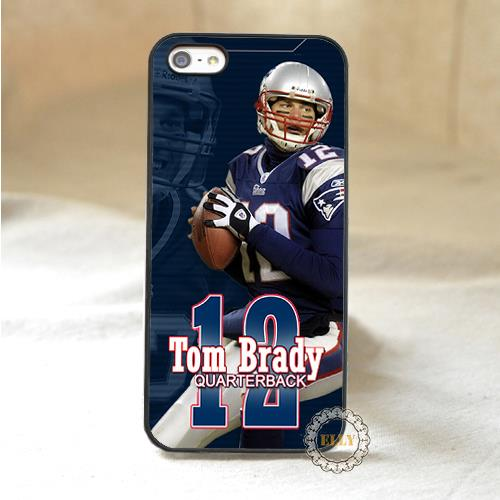 new england patriots tom brady fashion mobile phone case cover for iphone 4 4s 5 5s 5c 6 6 plus H3758(China (Mainland))
