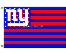 Buy New York Giants USA NFL Premium Team Football Flag NY Hot sell goods 3X5FT 150X90CM Banner brass metal holes for $6.99 in AliExpress store