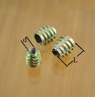 Крючок Threaded insert 100pcs/lot 5 * 10 M5X10mm