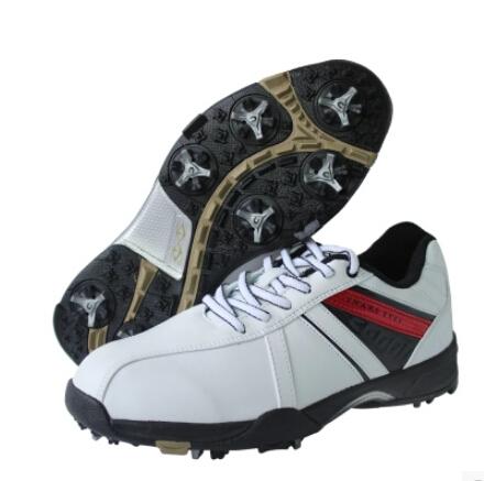 2015 International name brand Original golf ball shoes Men super leather shoes sneaker light velcro golf shoes(China (Mainland))