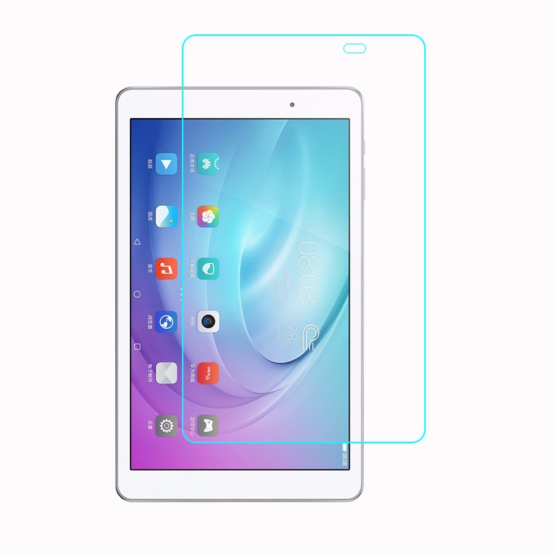 2Pcs 9H Tempered Glass Screen Protector Film For Huawei Honor Mediapad T2 10.0 Pro + Alcohol Cloth + Dust Absorber(China (Mainland))