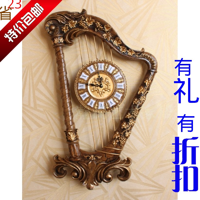 Popular Musical Instrument Wall ClockBuy Cheap Musical Instrument