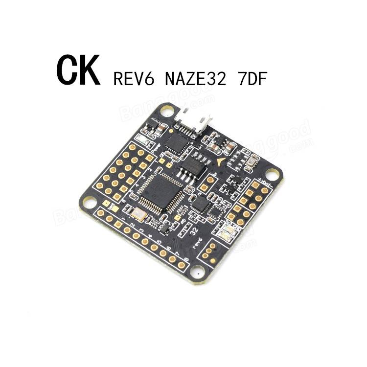 New Arrival  REV6 NAZE32 7DF Flight Controller For RC Multirotors Baseflight Configurator