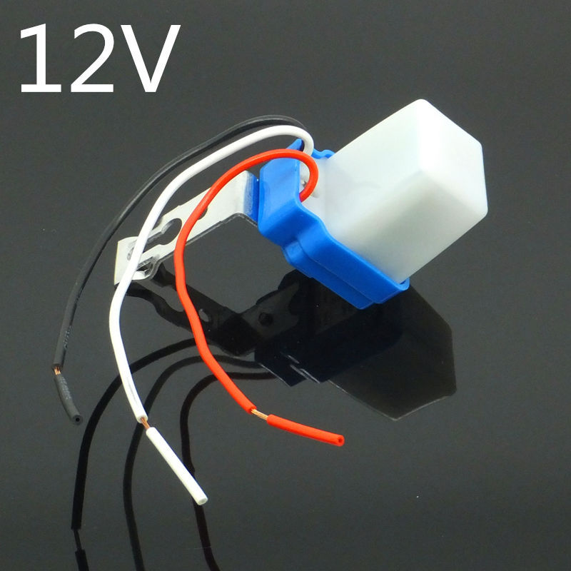 DC-12V Automatic Outdoor waterproof Day Auto On Off Light Switch, photo electric Street Lighting Control Sensor 10A DC- 12V<br><br>Aliexpress