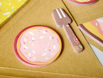 Free shipping! 10 pcs/lot , pizza sticky Notepad/Creative Note pad Memo/Sticky Paper note Pad / Message/Fashion Gifts !