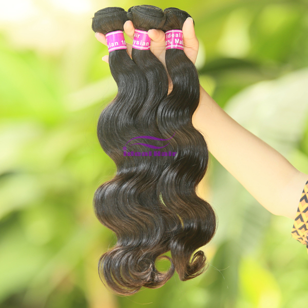 "Здесь можно купить  10pcs/lot, unprocessed malaysian virgin hair body wave hair extension, natural color, 12""-30"", Free Shipping!  Волосы и аксессуары"