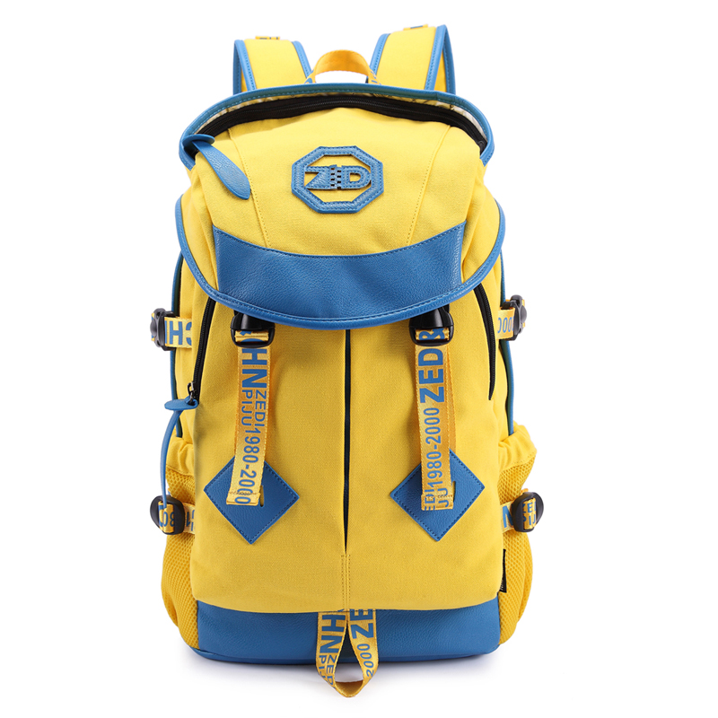 fashion middle students school bag travel outdoor man and women big store backpack casual and travel bag(China (Mainland))
