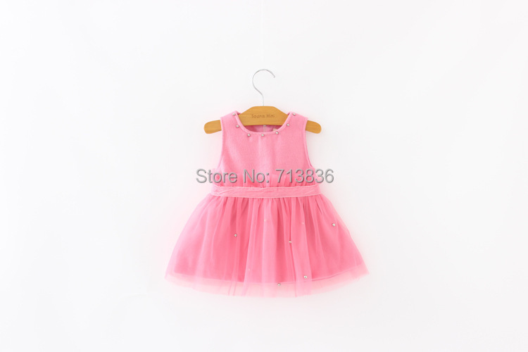[Eleven Story] 2015 Girls spring baby princess tutu dress clothing BB504DS-60(China (Mainland))