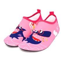 Pantufa Infantil الاطفال النعال التجفيف السريع السباحة الاطفال أحذية ماء الأحذية حفاة أكوا الجوارب للأطفال شاطئ بركة الكرتون(China)