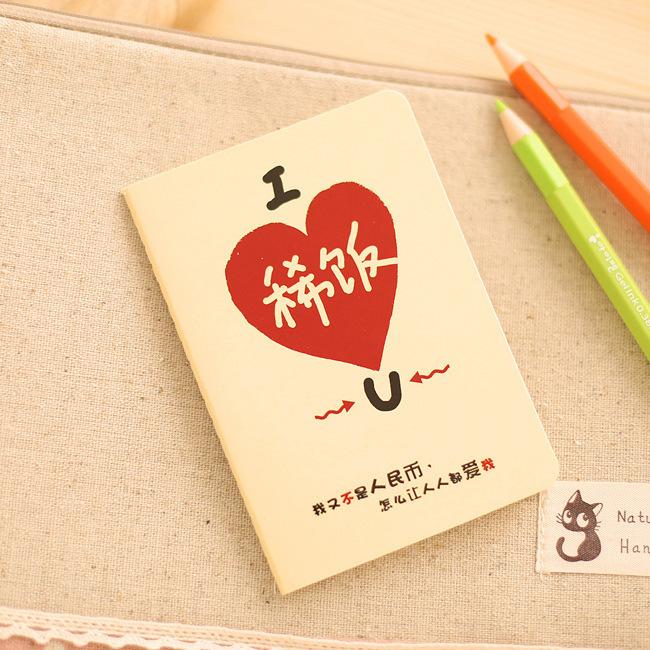 Beauty Thread Notepad Cartoon Animal Notebook Journal Diary Memo Writing Pad Stationery Office&School Supplies #NB166(China (Mainland))