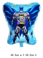 50 PCS Batman Superman Helium balloons kids birthday party decorations Inflatable toys gifts for children games