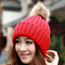 On Sale New 2014 Autumn Winter Cap Women Warm Woolen Knitted Fashion Hat For Gilrs Cap Woman Hat 12(China (Mainland))