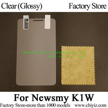 Clear Glossy Screen Protector Guard Cover protective Film For Newsmy Smart Phones K1W / Newsmy K1W