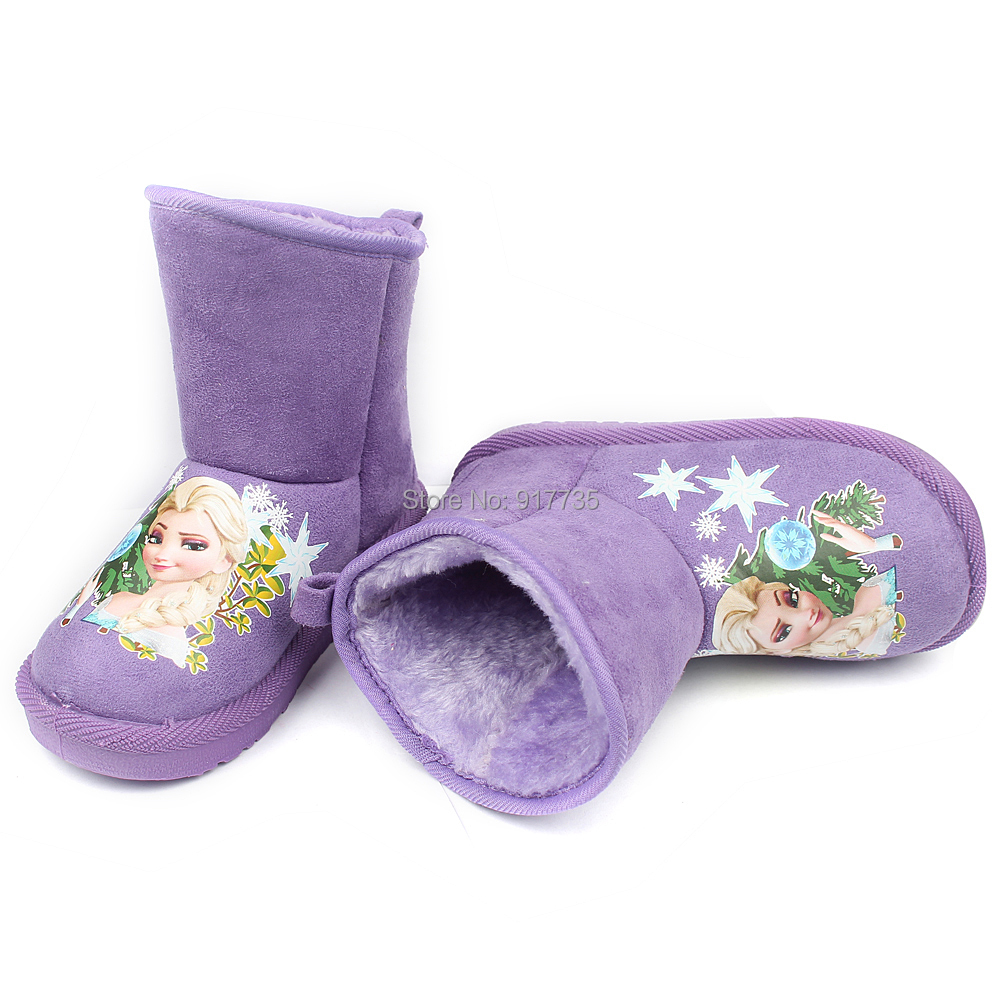 Youth Fur Boots Snow Boots Fur Baby Kids