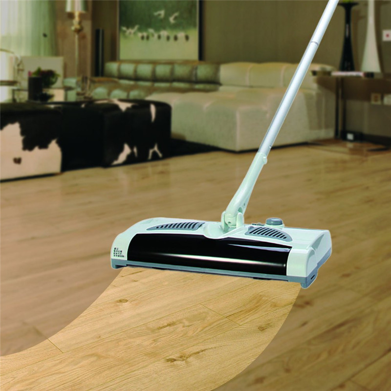 W-S018 2 in 1 Swivel Cordless Electric Robot Cleaner Drag Sweeping All-in-one Machine Automatic Mop(China (Mainland))