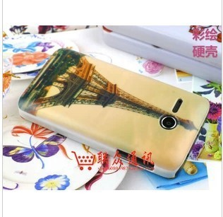 Huawei Y220T phone shell protective shell painted matte hard shell soft shell sand flow