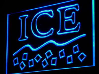 i915-b Ice Supplier Supply Shop Maker Logo Light Sign(China (Mainland))