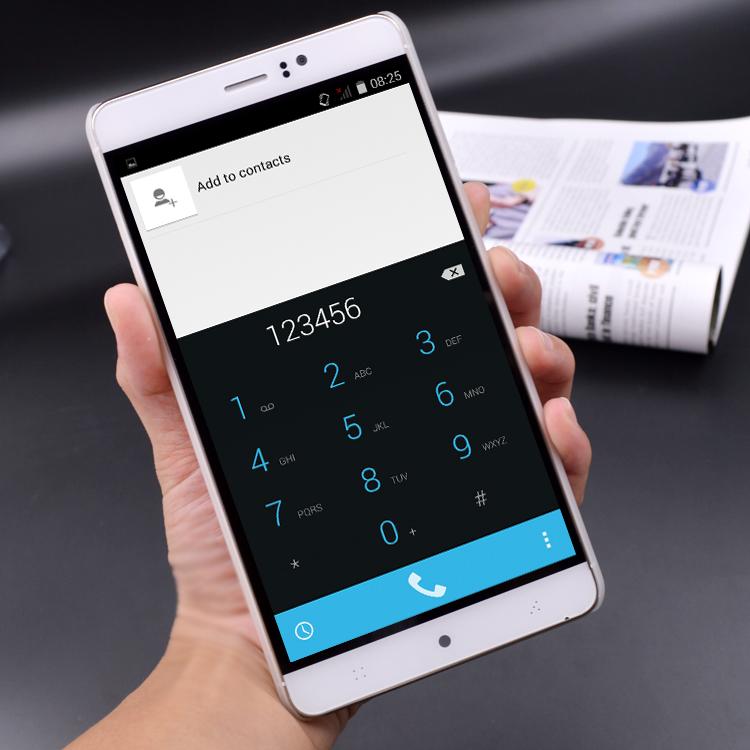 6 Inches Unlocked Android 5.0 Mobile Phone MTK6580 Quad Core 512MB RAM 4GB ROM WCDMA IPS 4800mAh Multi-Language Cheap Phone(China (Mainland))