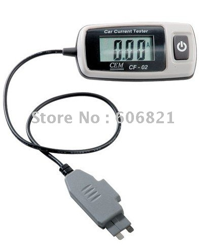 free shipping Automotive Digital Multimeter and Tester/Professional Automotive Current Tester /Car Current Testers CF-02(China (Mainland))