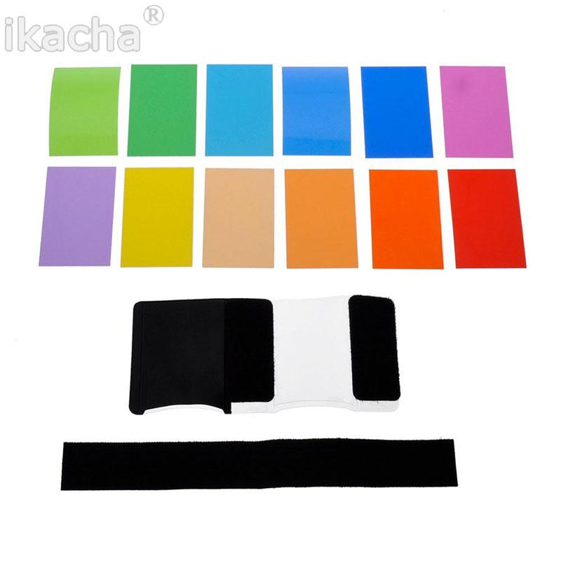 12 color flashlight Lamp shade flash  (2)