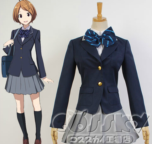 RAIL WARS Girl Uniform Cosplay Costume Size XS-XL - Movie Coser-YOY store