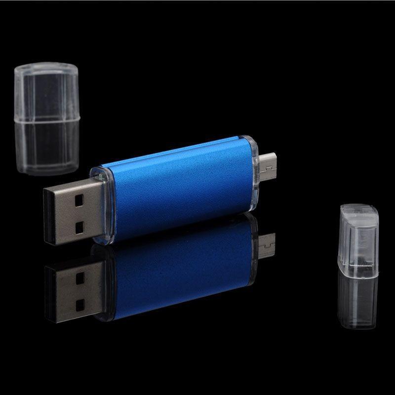 OTG Smart Phone PC USB Flash Drive 8GB 16GB 32GB mini usb stick Pen drives external storage micro usb pendrives(China (Mainland))