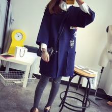 New Autumn Spring  Women Sweater Cardigans Casual Warm Long Design Female Coat   Cardigan Sweater Lady(China (Mainland))