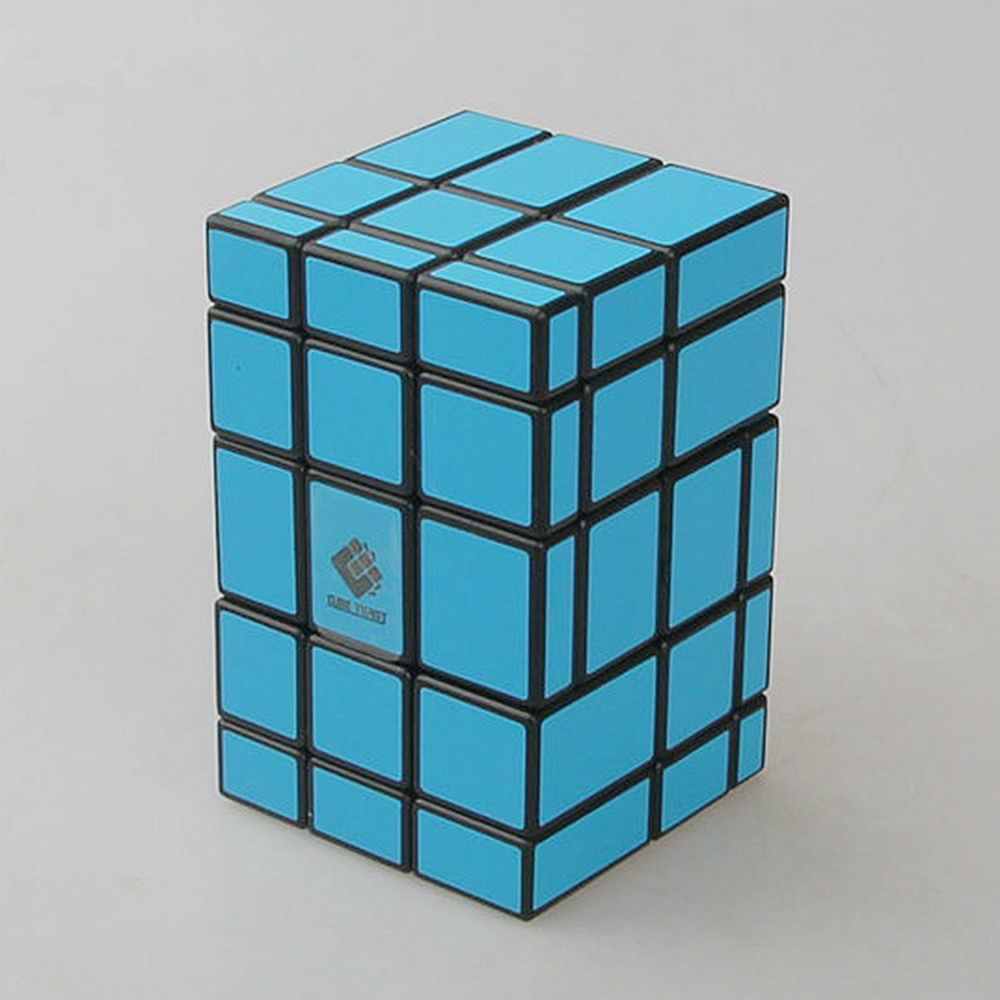 CubeTwist 3x3x5 Cast Coated Mirror Blocks Speed Magic Cube Puzzle Cubes Special Educational Toys For Kids Child(China (Mainland))