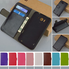 J&R Brand High Quality Flip PU Leather Case For HTC Sensation XL X315e G21 Cover Phone Cases With stand and Card Holder 9 colors(China (Mainland))