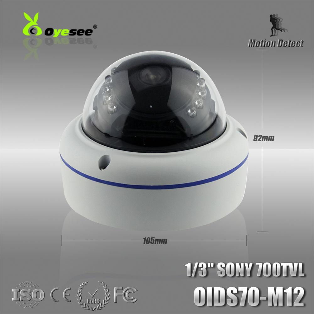 OIDS70-M12 Effio-E 700TVL 960h CCTV Indoor dome security camera fixed lens IR Camera Free shipping buy cctv camera online(China (Mainland))