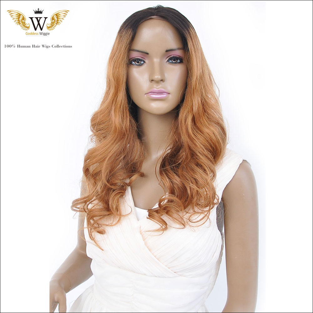 150Density Human Hair Wigs Blonde Ombre Lace Front Wig/Brazilian Full Lace Wig Brazilian Hair Wig With Baby Hair Bleachced Knots