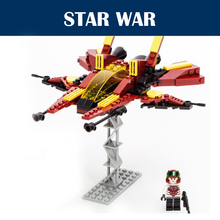 2015 New Star Wars Spaceship War Chariot 145pcs Fire Scorpion Fighters Building Blocks Bricks Starwars