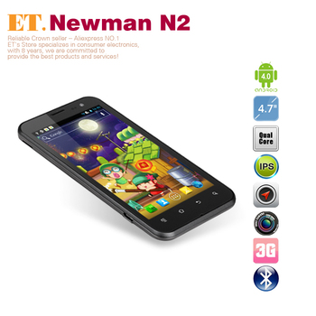 "4.7"" Newman N2 Quad core smartphone Exynos4412 1.4ghz IPS HD720P 1GB RAM 8GB ROM Camera  Android 4.0"