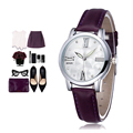 Women s Watch Ladies party Watches 9 colour Leather Fashion Brand Casual Wristwatch Quartz relojes de