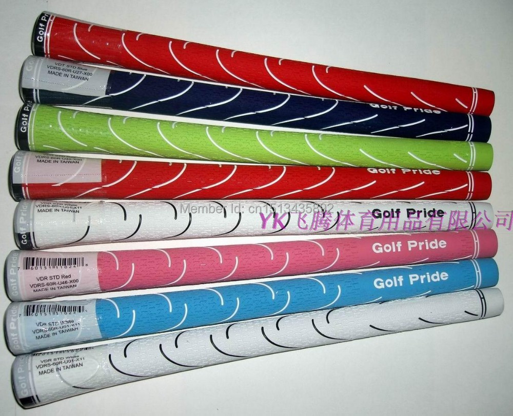 Free Air Mail Shipping Discount Golf Clubs VDR STD Golf Grips 12Pcs/Lot 7 Colors Available(China (Mainland))