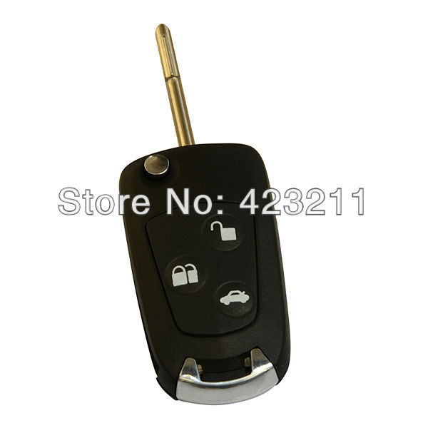 Flip Folding Remote Key Shell Case For Ford Focus Mondeo Suit KA 3 Buttons  TT0196