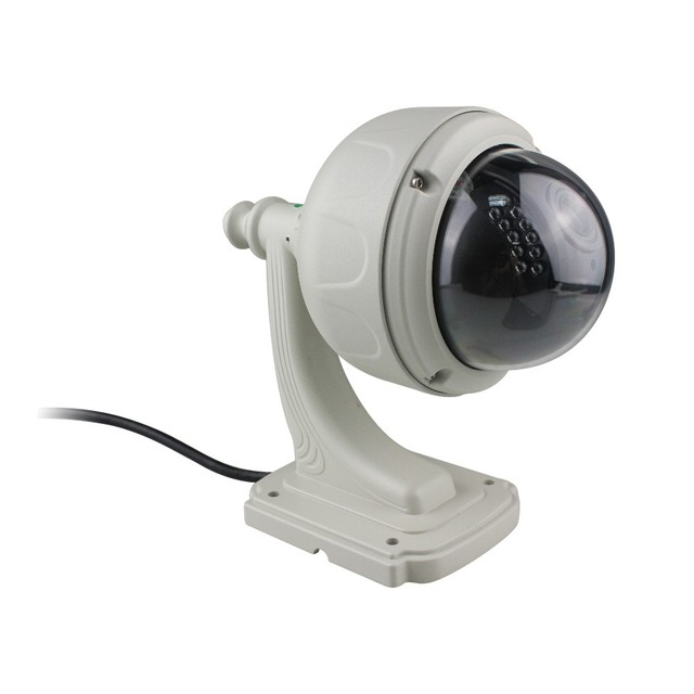 free shipping HD 720P Outdoor Wireless P2P High Speed Dome Onvif IP Camera With 3*Optical Zoom wholesale 1pcs