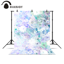 Allenjoy background for photo shoots Beautiful spring fresh lavender baby shower backgrounds for photo studio Photophone a bag(China (Mainland))