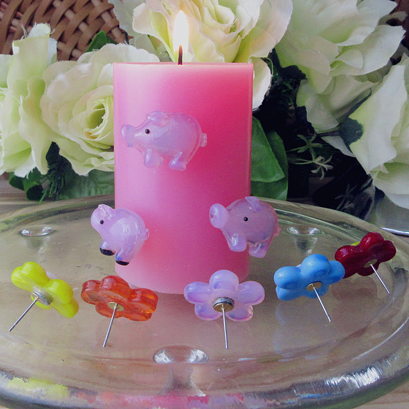Manufacturer production! Glass cartoon little statues of Easter suspended on candles for dinner decorations(China (Mainland))